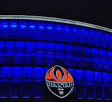 Donetsk - Donbass Arena - Deep Blue by Nina Zhiltsova