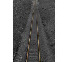 Railway line2 Photographic Print