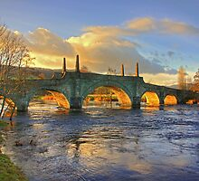 Wade's Bridge at Aberfeldy by Tom Gomez