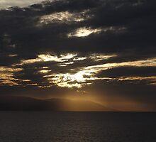 Winter - Light, Sky, Ocean I - Invierno - Luz, Cielo, Oceano by Bernhard Matejka