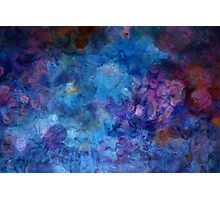 Blue Grotto Painting  Photographic Print