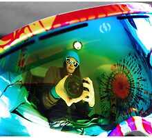 Goggle Reflection by elizacornish