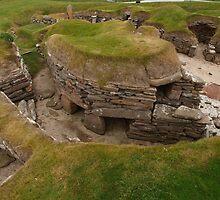 Skara Brae Settlement by kalaryder