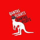Qantas Flights, Qantas Pilots by Frank Stillitano