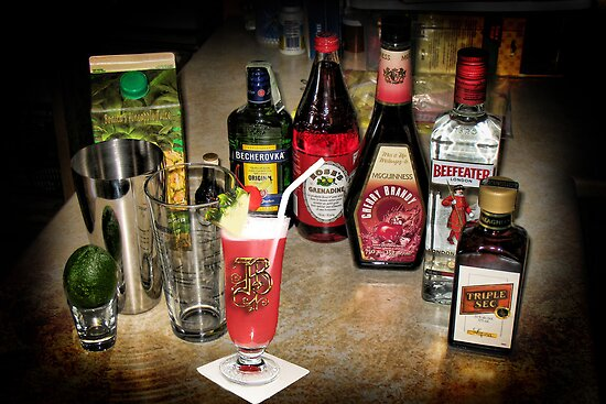 "♥ 。✰˚* ˚ ★ღ THE INGREDIENTS 4 MY FAVORITE DRINK ""SINGAPORE SLING"" ""MM"" GOOD"" CHEERS YA ALL ♥ 。✰˚* ˚ ★ღ by ✿✿ Bonita ✿✿ ђєℓℓσ"