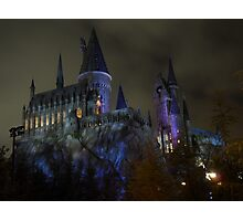 Hogwarts School of Witchcraft and Wizardry Photographic Print