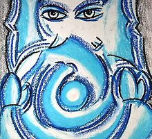 Ganapati (Sublime Blue) by Jai Barve
