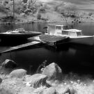 Boats, Lake Jindabyne by Syd Winer