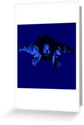 Flying Dude by loogyhead