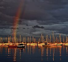 Last Light, Williamstown (2) by Kris Montgomery