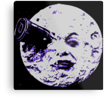 Moon Metal Print