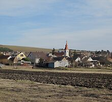 view of village Vachartyany_Hungary2012jan by ambrusz