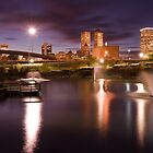 Tulsa Lights - Centennial Park View by Gregory Ballos | gregoryballosphoto.com