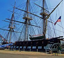 The USS Constitution ( Old Ironsides ) by Paul Albert