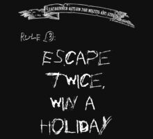deadbunneh asylum - escape twice, win a holiday by deadbunneh _