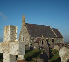 St Gwenfaen's Church by Simon Evans