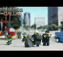 Lego Bodyguards by Shobrick