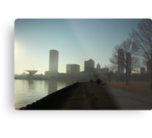 Milwaukee a city with a Harbor Metal Print