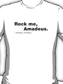 Amadeus, Amadeus. T-Shirt