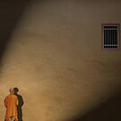 Spotlight on the persecuted... not the jailer. by Gwoeii