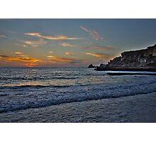 Dawn at Golden Bay Photographic Print