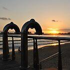 Iconic Mooloolaba Showers at Sunrise by Alex  Jeffery
