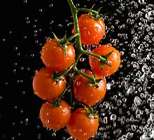 Cherry Tomates - iPhone by Andrew Bret Wallis
