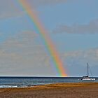 Sailboat rainbow by bamorris