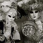 Carnavale di Venezia Masks IV.I by Louise Fahy
