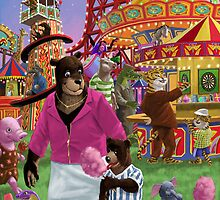 animal fun fair by martyee