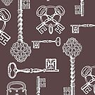 Skeleton Keys Poster Print by Zehda