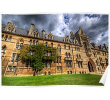 Christ Church College - Oxford, England Poster