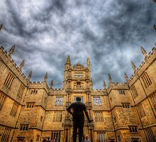 Divinity School - Oxford, England by Yhun Suarez