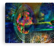 Skimming the Vortex Canvas Print