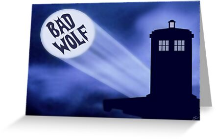 Bad Wolf by Riott Designs