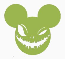 Scary Mickey sickly yellow by Patrick Williams