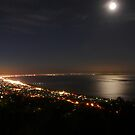 Night on the peninsula by Dave Callaway