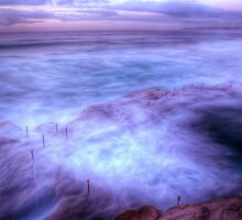 Bogey Hole - Purple Haze I by Brad Woodman