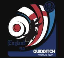 Quidditch World Cup Logo Tee by SholoRobo