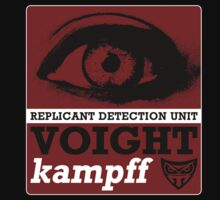 The Voight-Kampff test by theycutthepower