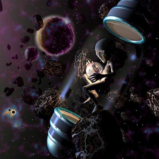 Lost in Space by Dreamscenery