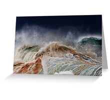 Winter Waves At Pipeline 14 Greeting Card