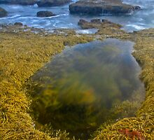 Low Tide and Stormy Water by Stephen Ruane