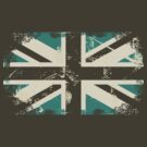 grungy UK flag by Anastasiia Kucherenko
