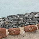 Unusual sea defences by Stan Daniels