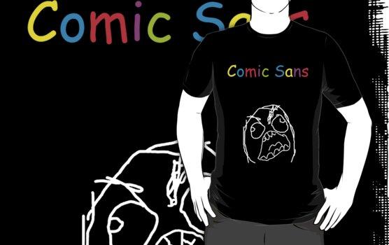 Comic sans rage by monica90
