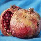 Classic Still Life Pomegranate by Przemysław Bródka