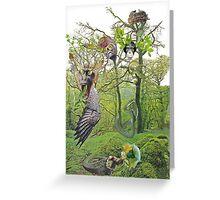 Unatural Selection 6 - Speak No Evil, See No Evil Hear No Evil Greeting Card