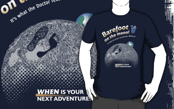 Doctor Who: Barefoot on the Moon Redux by AndreeDesign