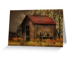 """ Love Shack "" Greeting Card"